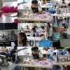 水着縫製AKFのこだわりについてお伝えしますね。生地、デザイン、ミシン、付属資材